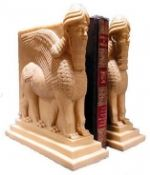LAMASSU Lion Bookend